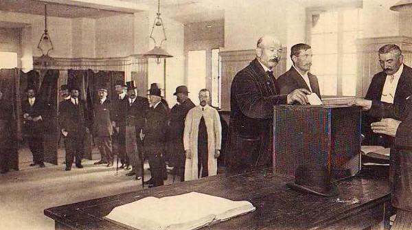 Saint aubin du cormier et l invention du vote bulletin - Remuneration bureau de vote ...